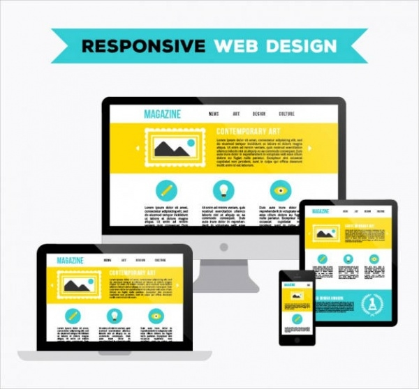 Contemporary Responsive Design On Web Devices