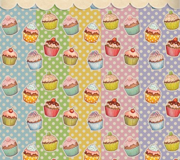 Cool Cupcake Pattern