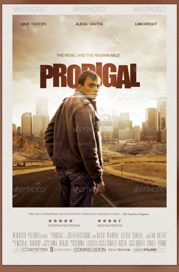 cool movie poster design