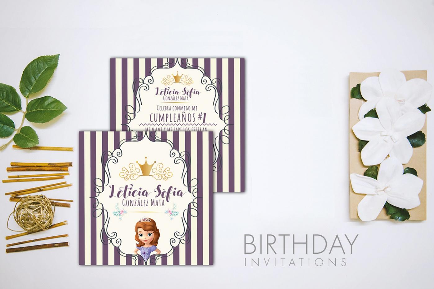 Cool Printable Birthday Invite