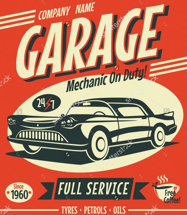 cool vintage poster