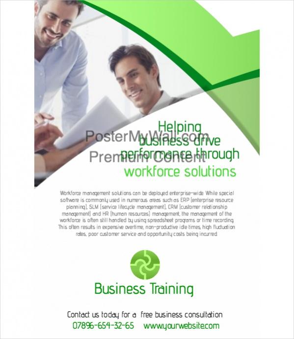 corporate poster designs