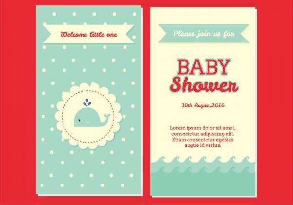 Creative Baby Shower Invitation