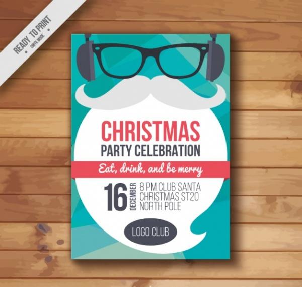 creative christmas poster