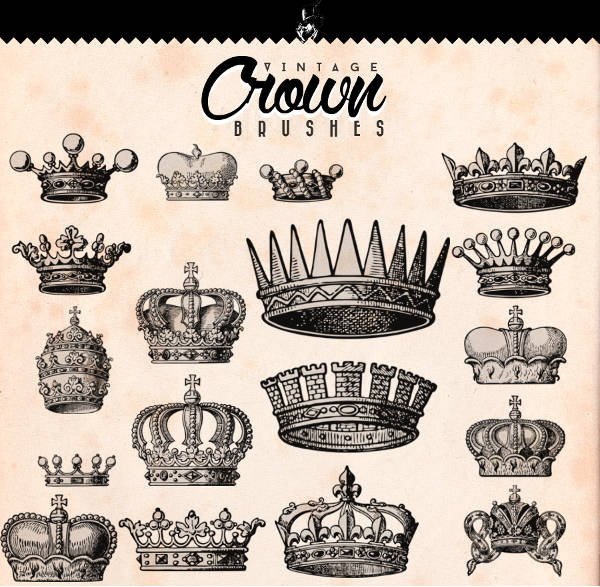 Crown Psd Brushes