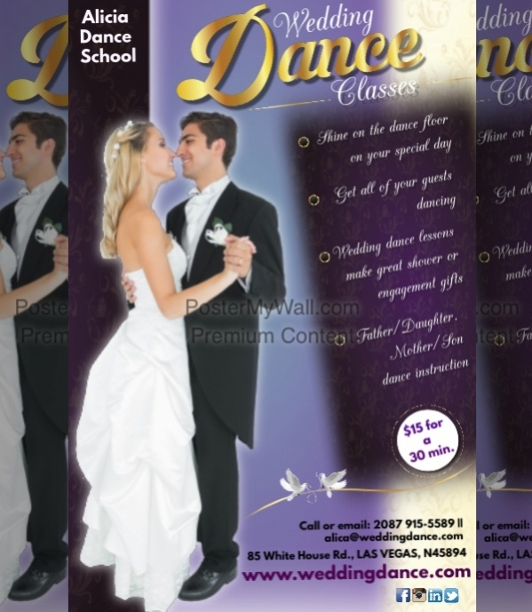 customized wedding poster