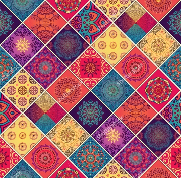 Cute Decorative Oriental Pattern