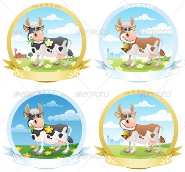 Dairy Products Label