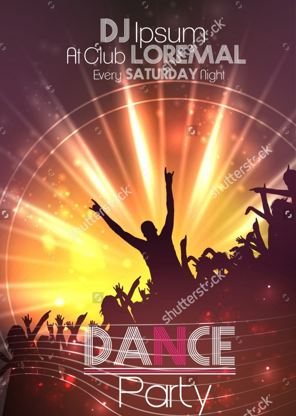 Dance Party Poster