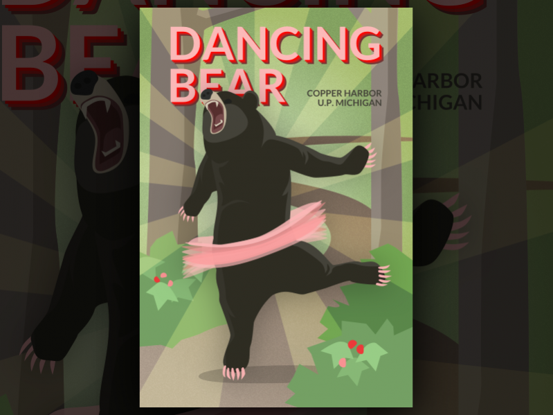 Dancing Bear Trail Poster