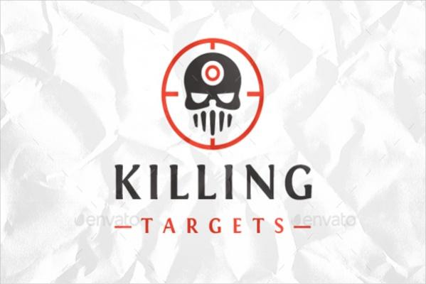 Dead Target Logo Design