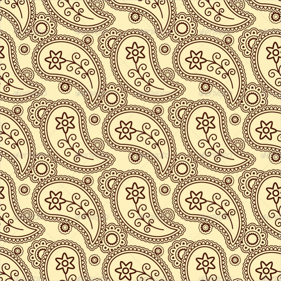 Decorative Paisley Pattern