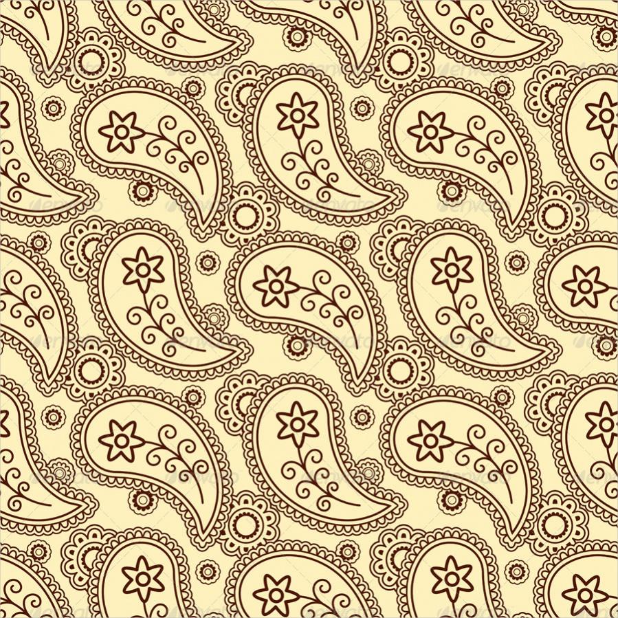 Decorative Paisley Pattern