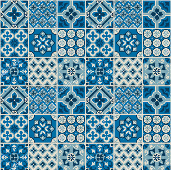 Decorative Tiled Pattern Design