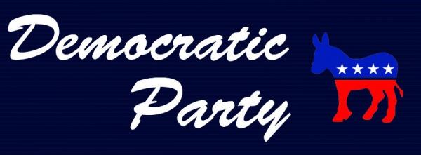 democratic party banner