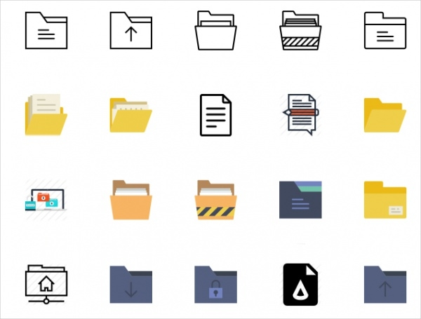 Different Free Folder Icons