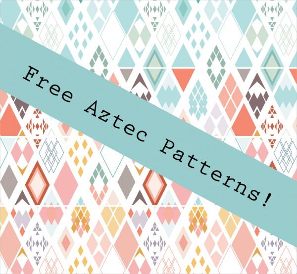 Digital Aztec Paper Pattern