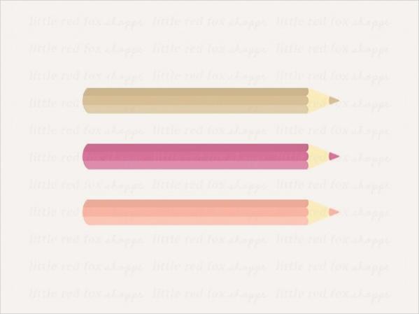 Digital Pencil Clipart
