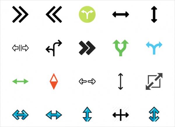 Double Arrow Icons