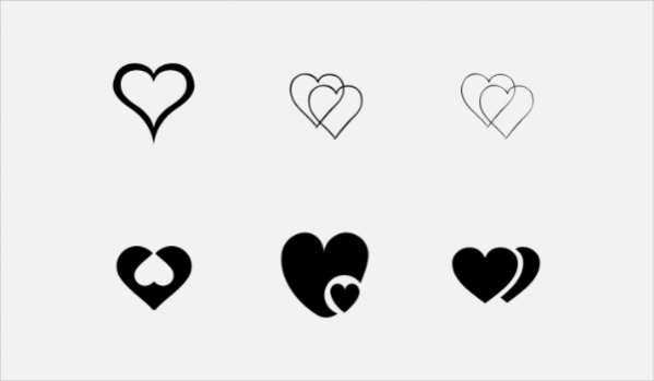 Double Heart Icon
