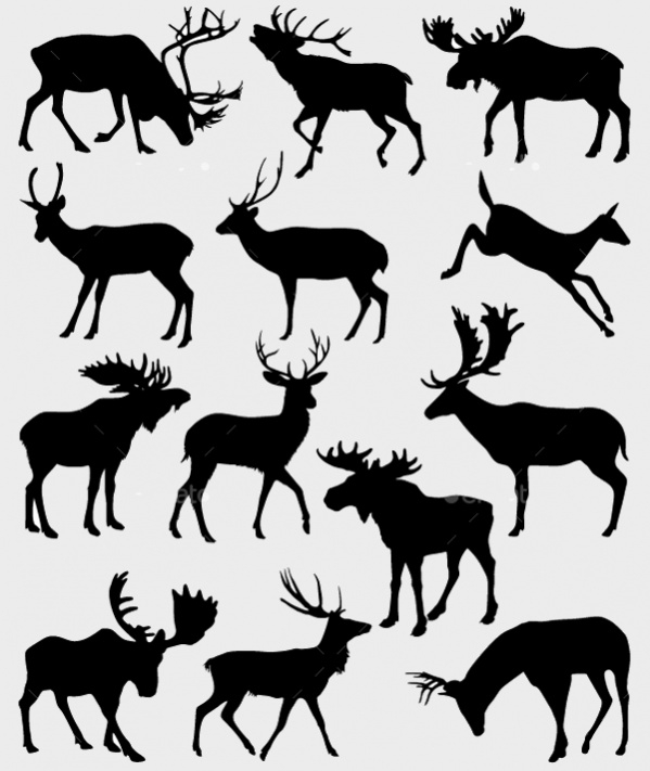 Download Deer Silhouette