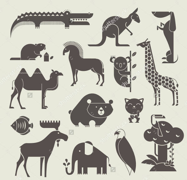 Downloadable Animal Silhouettes