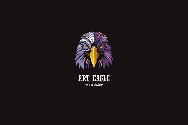 Eagle Logo for webstudio design