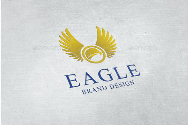Eagle Wings Logo Design