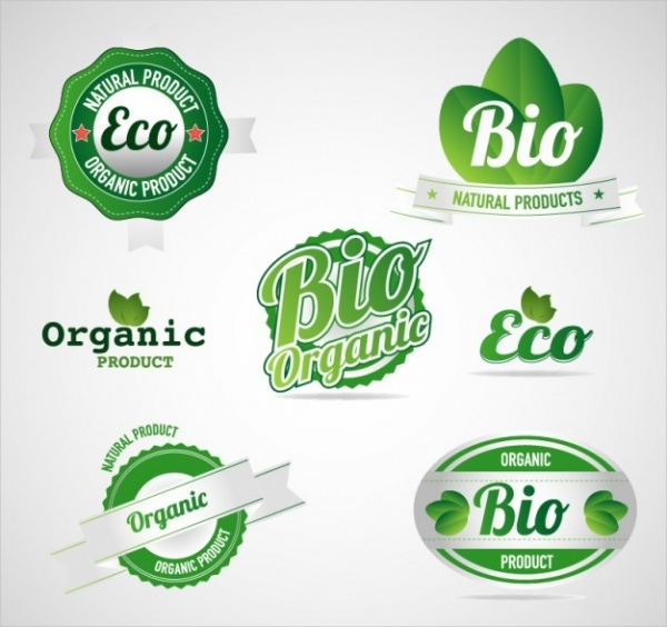 Eco Green Food Labels