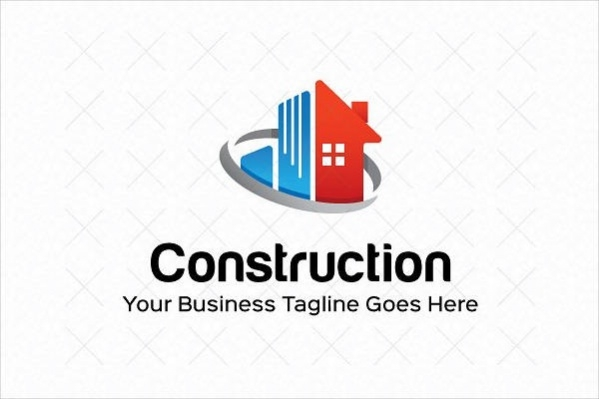 Editable Construction Logo