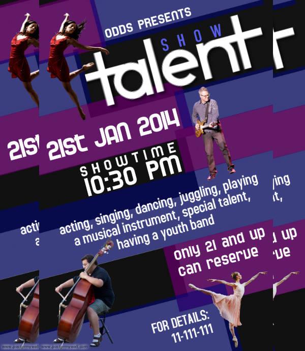 Editable Event Flyer Design