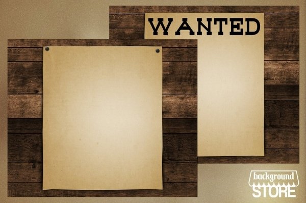 Editable Wanted Poster