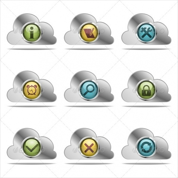 Editable Website Icons