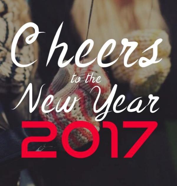 Elegant Happy New year Card