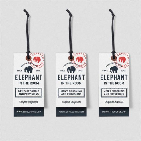 Elephant Grooming Hang Tags