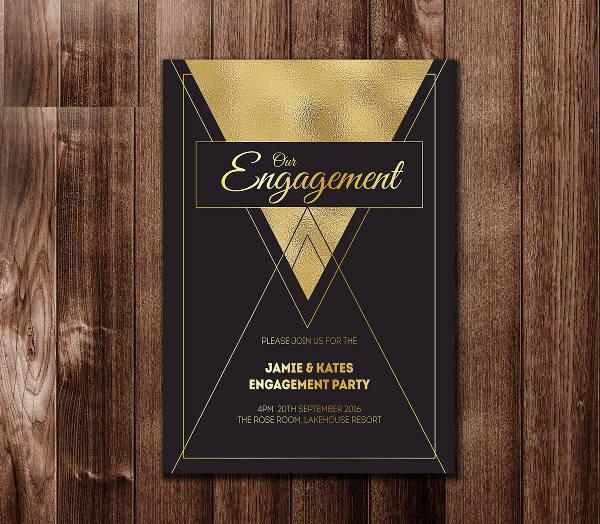 Engagement Party Invitation Design