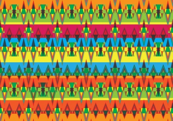 Ethnic Style Aztec Pattern