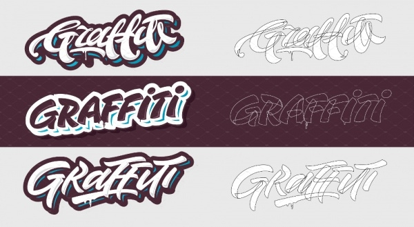 Fancy Graffiti Alphabet
