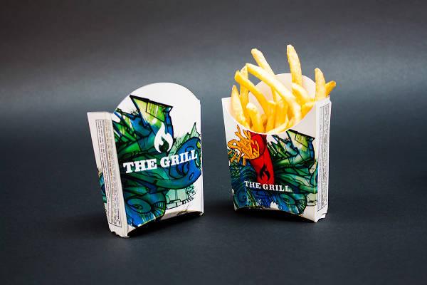 fast food packaging design