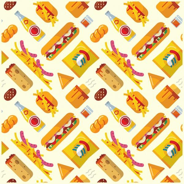 Fast Food pattern Design