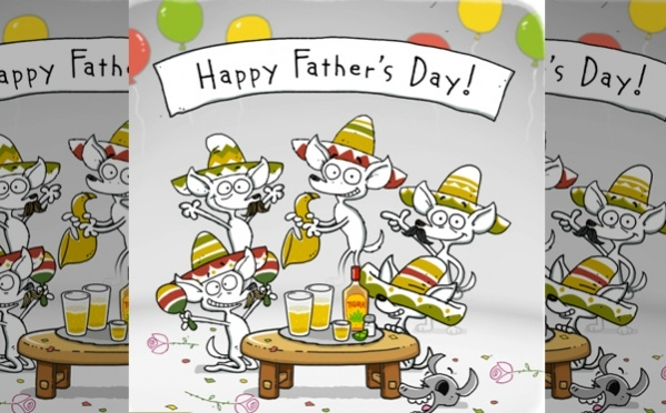 Fathers Day Song Card