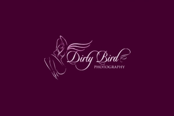 Female Purple Photography Logo