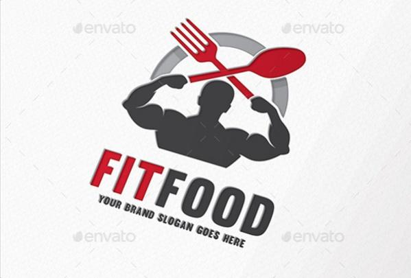 Fitness Food Logo