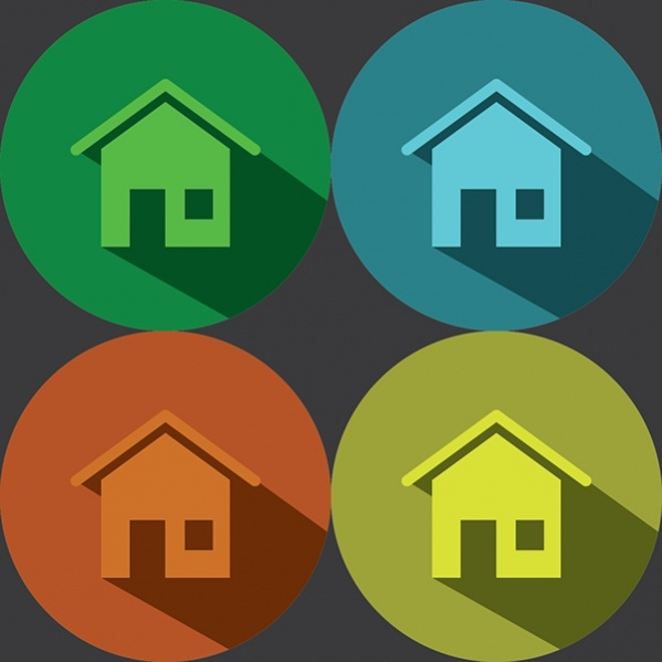 Flat Home Icon
