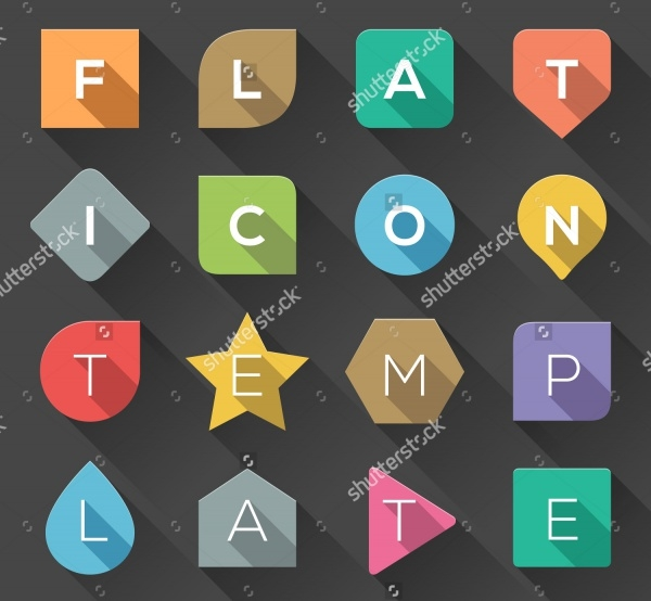 Flat Icon Shapes