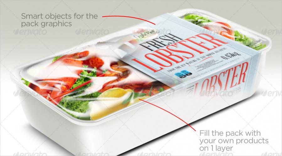 Food Box Packaging Design