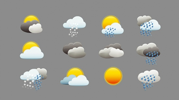 Free Animated Weather Icons