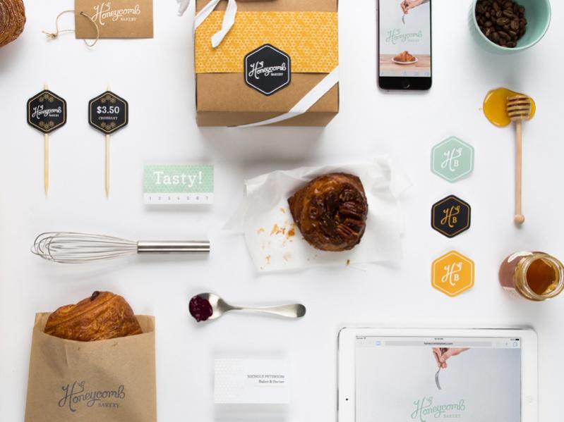 Free Bakery Branding Design