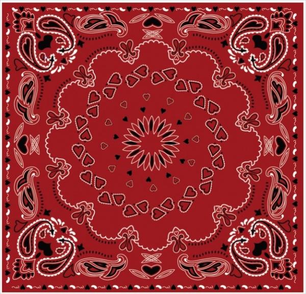 Free Bandana Paisley Pattern