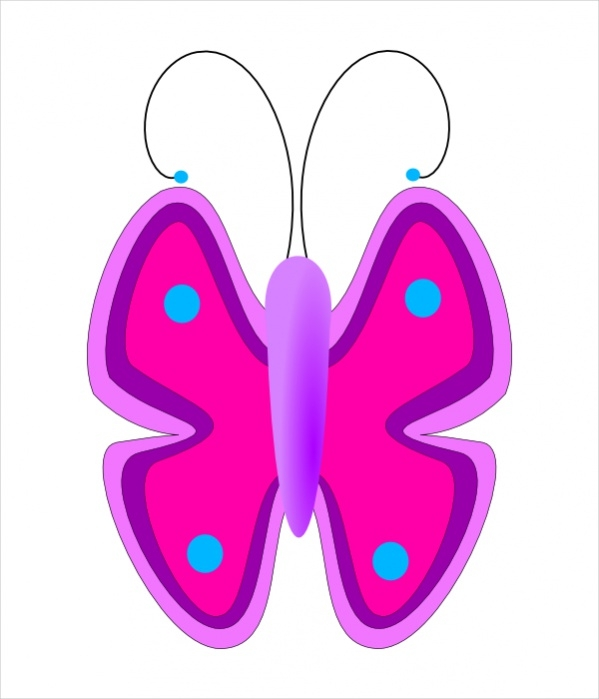 Free Butterfly Clipart Design